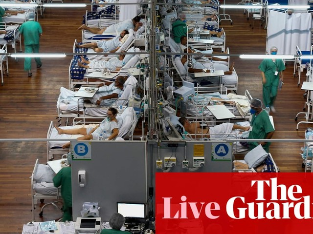 Coronavirus live news: Germany 'risks losing control' of Covid; Brazil deaths top 3,000 for second day