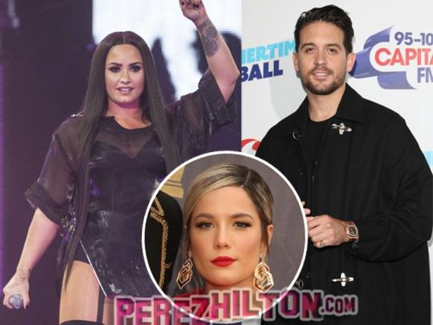 Demi Lovato And G-Eazy Spotted Holding Hands Walking Out Of Hollywood Nightclub Weeks After Halsey Split…