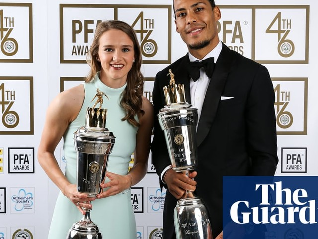 Virgil van Dijk and Vivianne Miedema named PFA players of the year