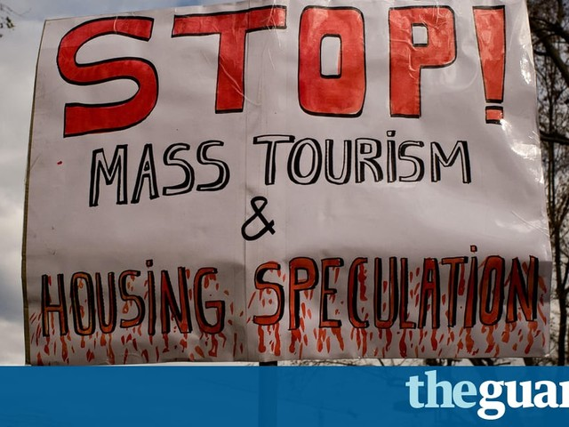 Mass tourism ruins the places it loves | Letters