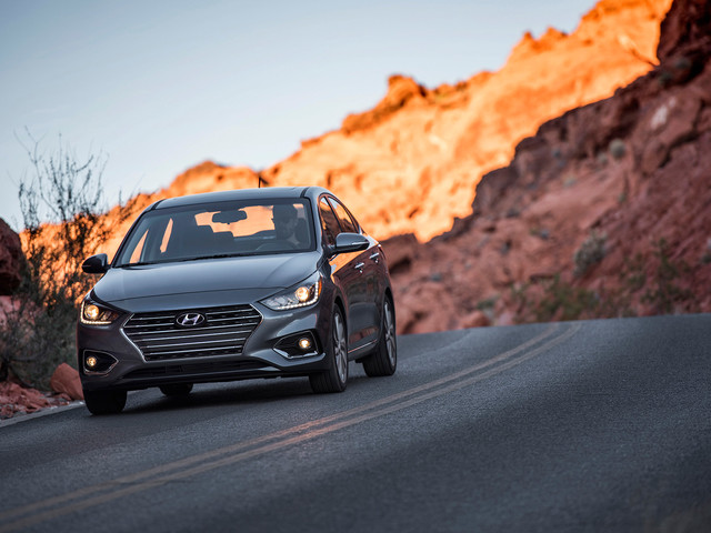 2018 Hyundai Accent Priced From $15,880