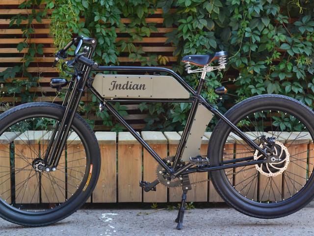 Retro styled Aeroslon 500 electric bike from €699
