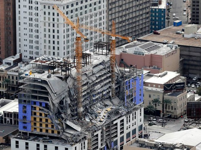 Remains exposed months after Hard Rock hotel collapse