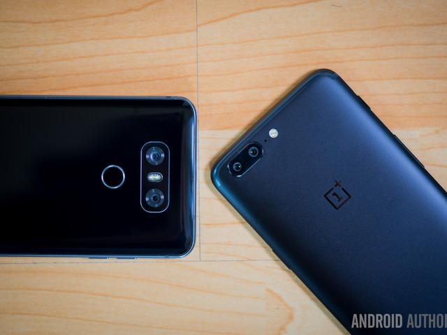OnePlus 5 vs LG G6: quick look