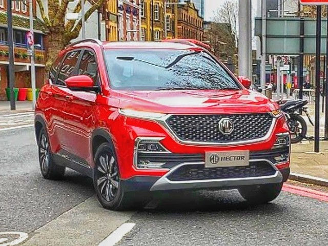 India-spec MG Hector SUV first pics out