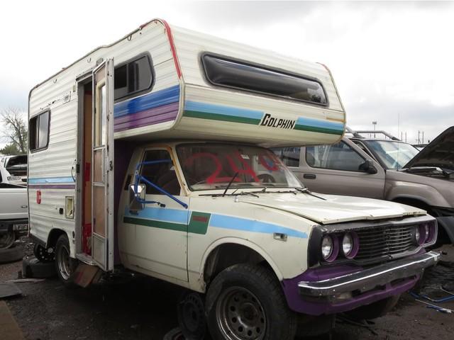 Junkyard Find: 1978 Toyota Dolphin Mini-Motorhome