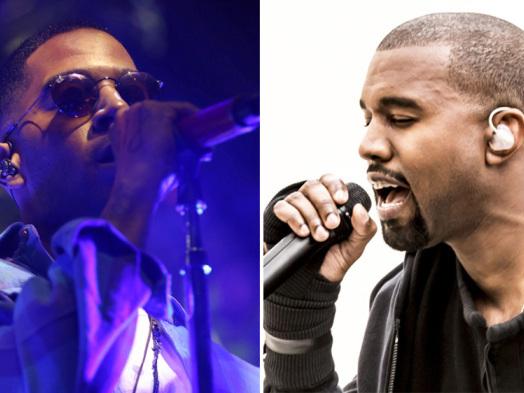 Kanye West Joins Kid Cudi for Surprise Coachella Set