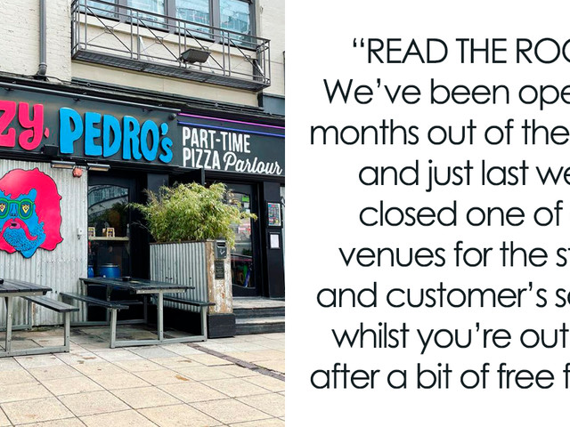 """""""Read The Room"""": Manchester Pizza Bar Slams Influencer Looking To 'Collaborate' For Free Food"""