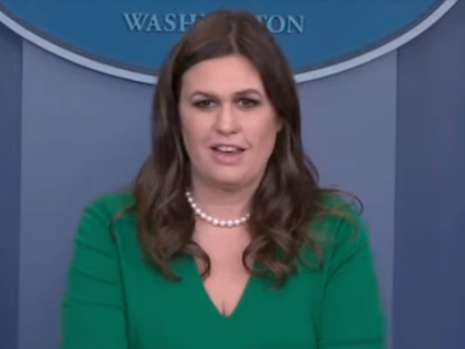 Why Is Sarah Huckabee Sanders Lying About Baking A Pie For Thanksgiving??