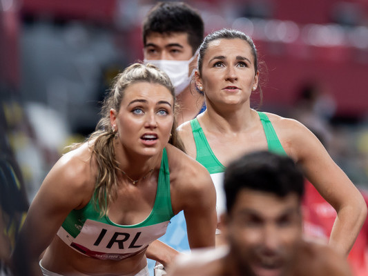 Irish 4x400m mixed relay team set new national record to book place in Olympic final