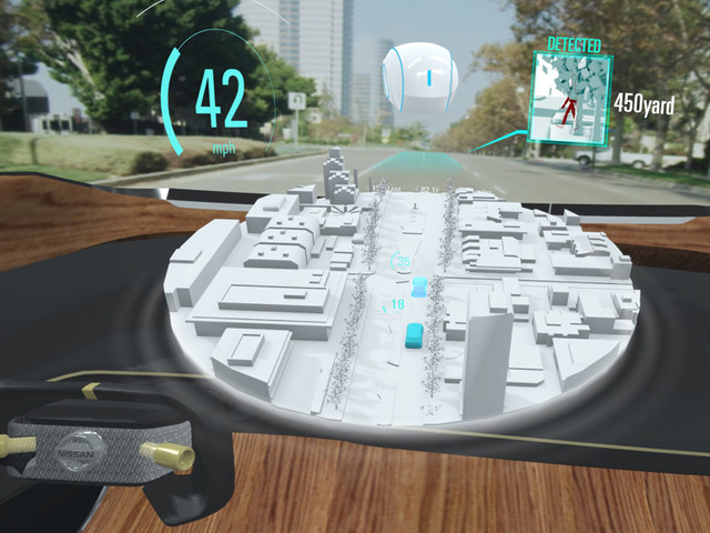 New Nissan i2V technology unveiled at CES 2019