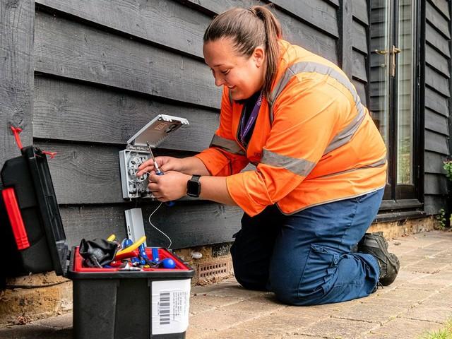 Openreach UK Trials New Approach to FTTP Broadband Installs