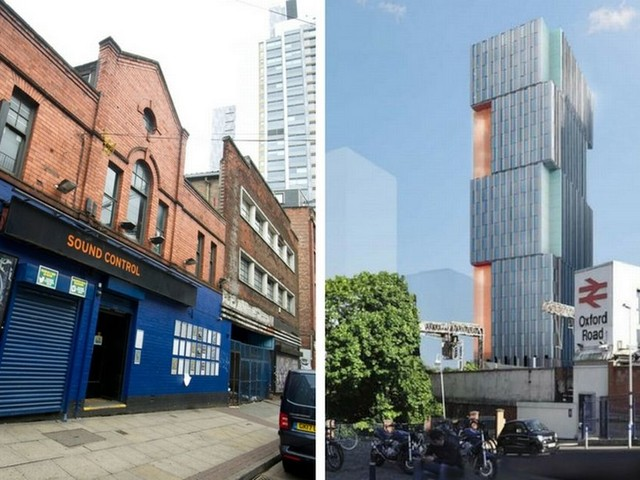 Music venue Sound Control could be demolished to make way for huge tower of students flats