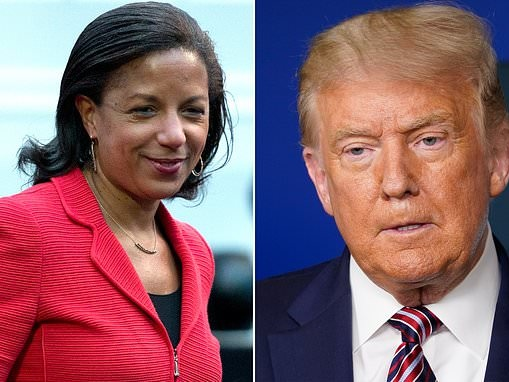 Susan Rice claims Donald Trump has given his 'blessing' for Russian interference in the election
