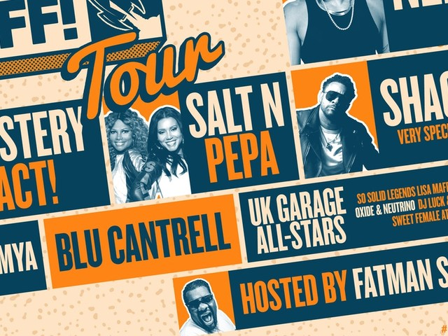 Presale: The Blast Off! Tour ft. Nelly, Shaggy & more - get tickets 24 hours early