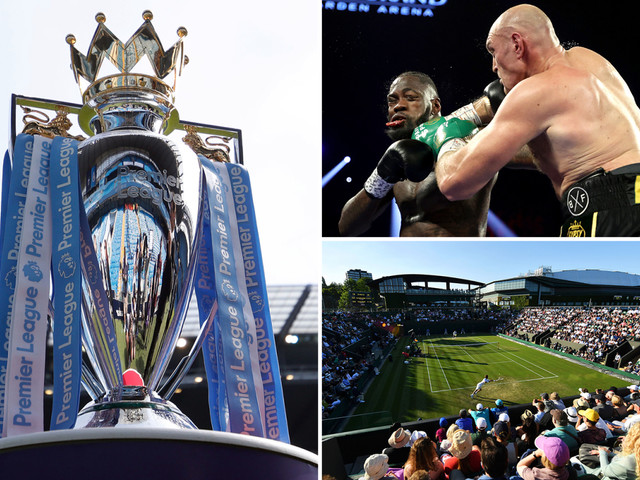 Coronavirus in sport LIVE: Premier League meeting TODAY, Wimbledon latest, Fury vs Wilder 3 new date, Olympics postponed