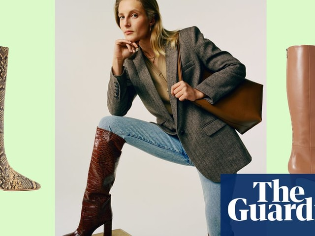 Step up: 10 of the best knee-high boots – in pictures