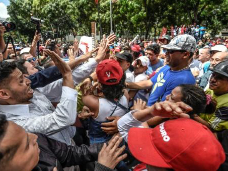 As Venezuela burns, a divided region proves short on solutions