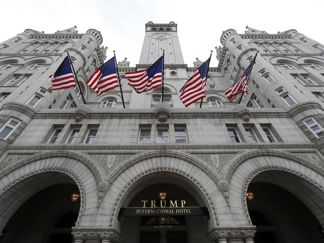 Maine paid for 40 rooms at Trump hotel for LePage, staff - Press Herald