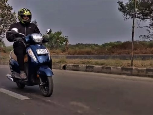 Suzuki Access 125 BS6 Video Review: Mileage, Performance, Comfort And Every Other Detail