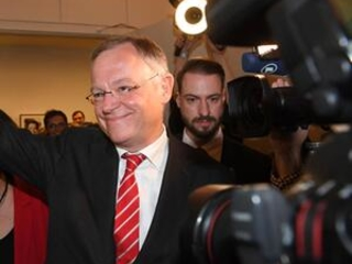 Center-left party projected to win north German state vote