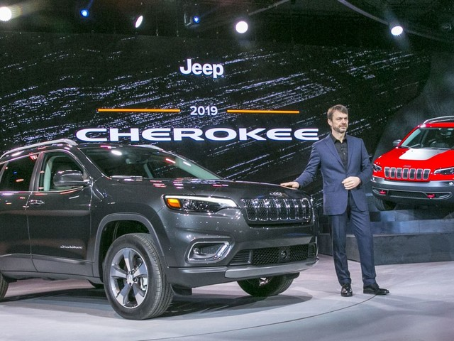 New 2019 Jeep Cherokee Debuts At The 2018 Detroit Auto Show