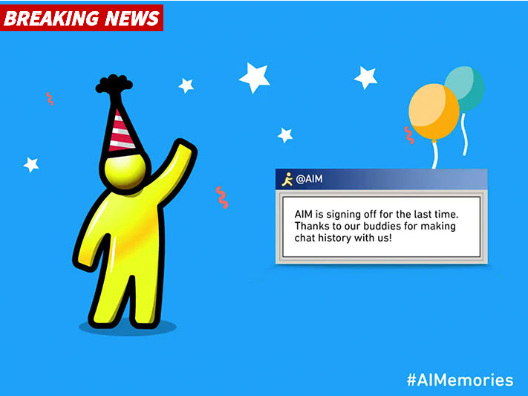 AOL Instant Messager R.I.P.