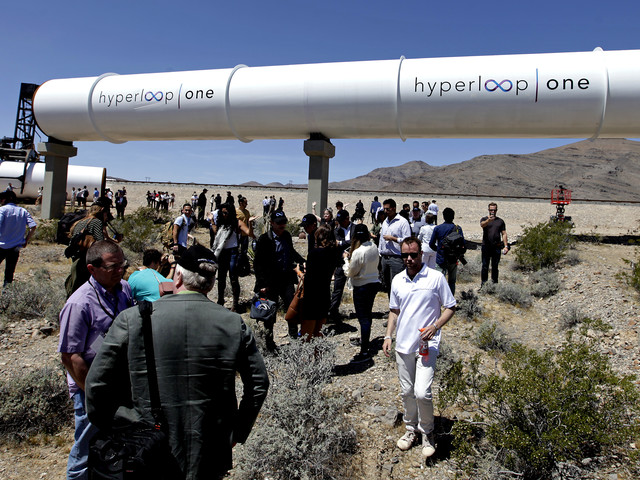 London to Edinburgh in 50 minutes: Branson's Virgin Hyperloop One