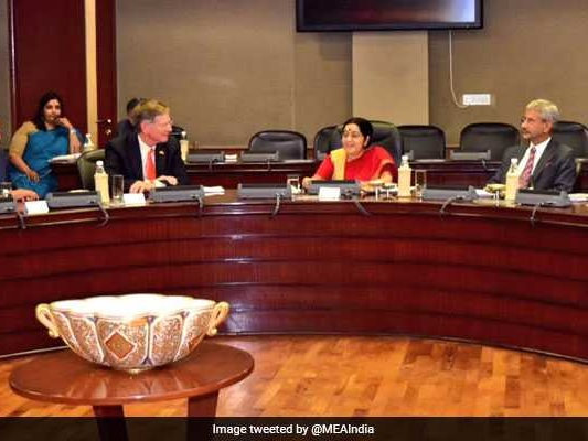 Sushma Swaraj Flags H-1B Visas To US Delegation As 'Strong Concern'
