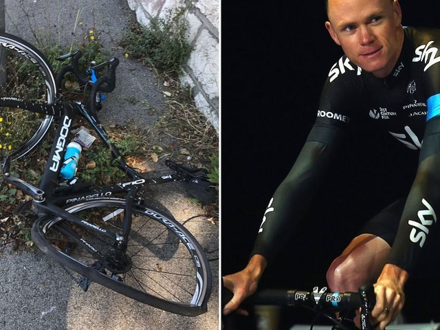 It'll take more than an angry driver to stop me, vows Chris Froome after THAT crash