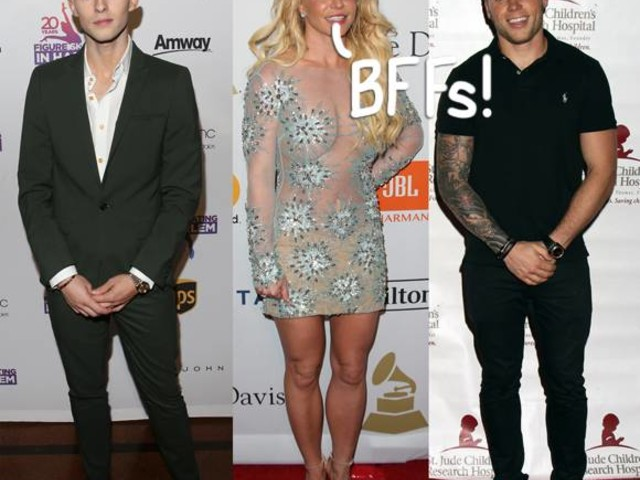 Britney Spears Is Now BFFs With Olympians Adam Rippon And Gus Kenworthy And We Are Jealous!!!
