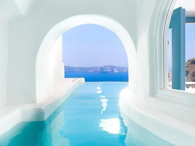 15 of the best hotels on the Greek island of Santorini for dramatic views, private pools, and iconic architecture