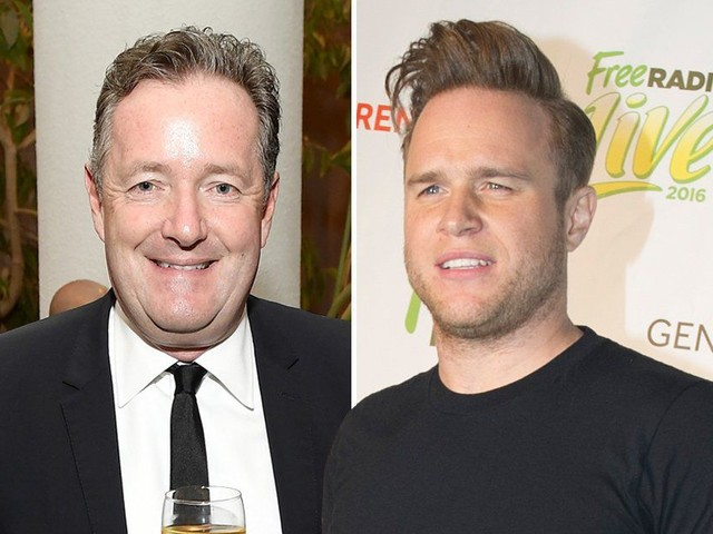 Olly Murs and Piers Morgan get into a Twitter spat after Oxford Street false alarm