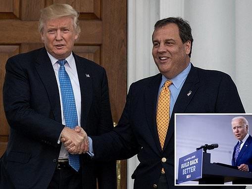 Chris Christie 'will likely role-play as Joe Biden in Trump's debate prep'