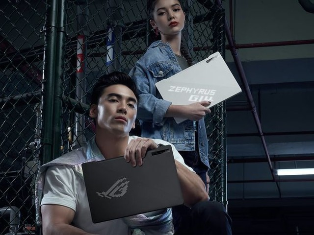 Customizable Display Gamer Laptops - The ASUS ROG Zephyrus G14 Compact Gaming Laptop is Travel-Ready (TrendHunter.com)