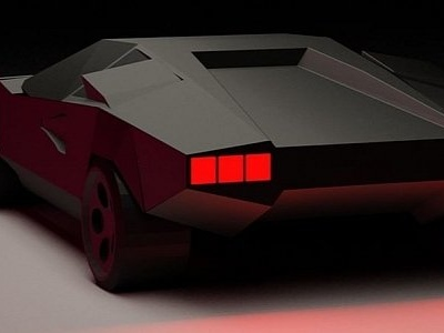 Simplified Lamborghini Countach Concept Looks Better Than Most Supercars