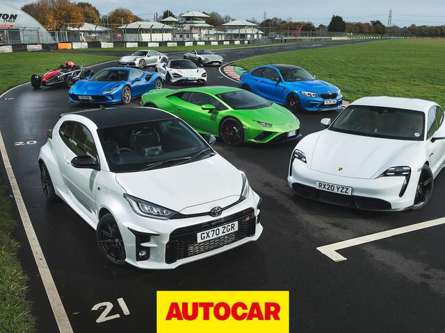 Video: Best sports cars reviewed | Britain's Best Driver's Car 2020 shootout