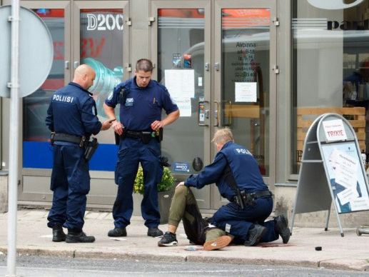 Finland stabbing suspect may have been radicalised