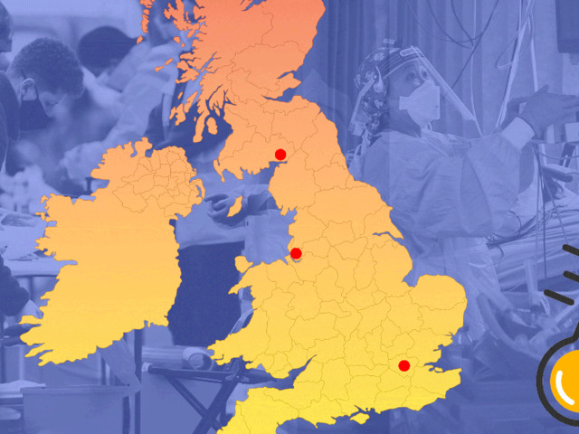 Map shows 25 Covid hotspots on new watchlist