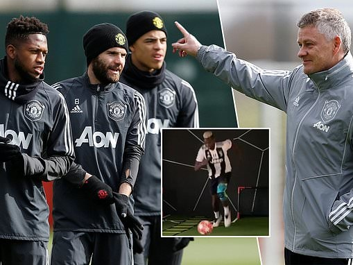 Ole Gunnar Solskjaer insists he is busy preparing for Manchester United's return to action