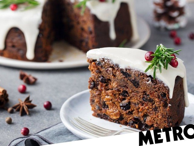 Two slices of Christmas cake could push you over the drink-drive limit