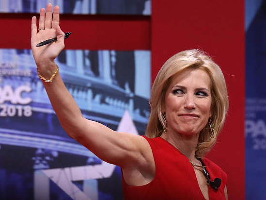 Laura Ingraham Lands a New Sponsor: Google Has Placed 20-Plus Ads This Month