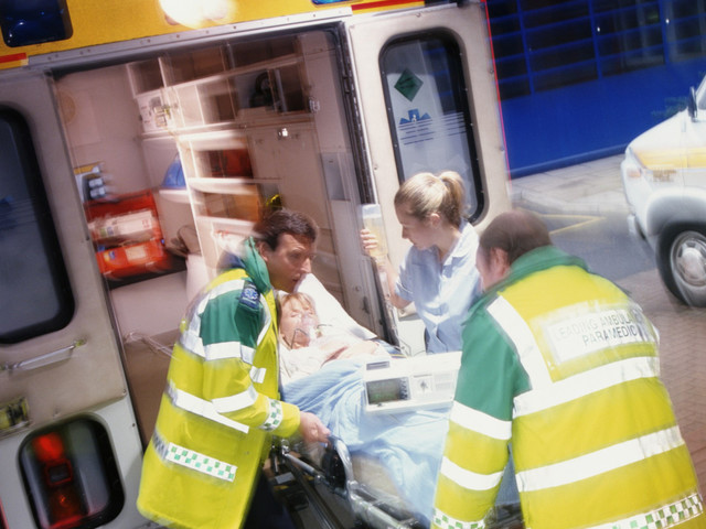 Ambulance Workers Don't Retire Anymore - They Burn Out