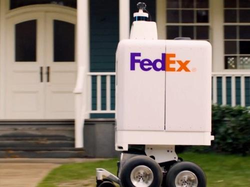 FedEx's new delivery bot could help it circumvent Amazon (FDX, AMZN, UPS, TGT, WMT, WBA)