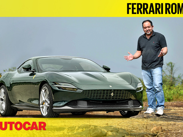 Review: Ferrari Roma India video review