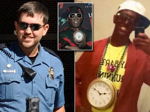 University of Missouri police officer fired after photo of him in blackface emerged