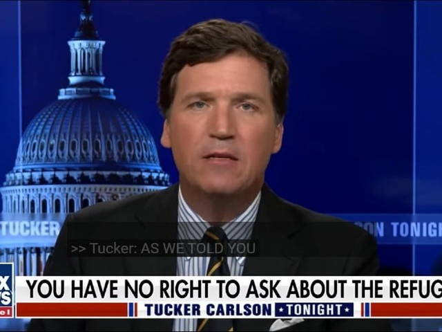 Tucker Carlson Wonders if Afghan Refugees Are Part of a Democratic Plot to Steal Elections (Video)