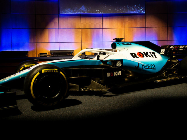 Williams FW42 F1 2019 car livery unveiling: videos and pictures