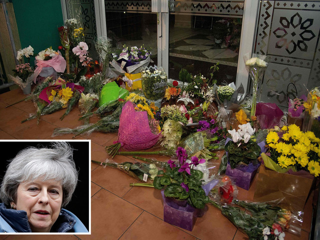 Theresa May leads the condolences from Westminster after the 'horrifying' Christchurch massacre