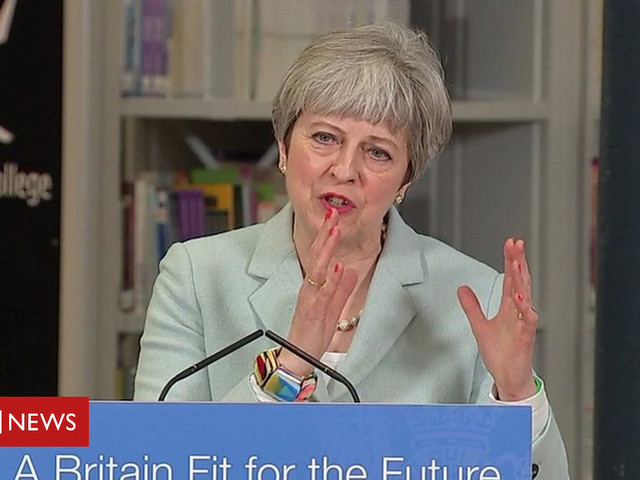 Theresa May: System must be fair to students and taxpayers